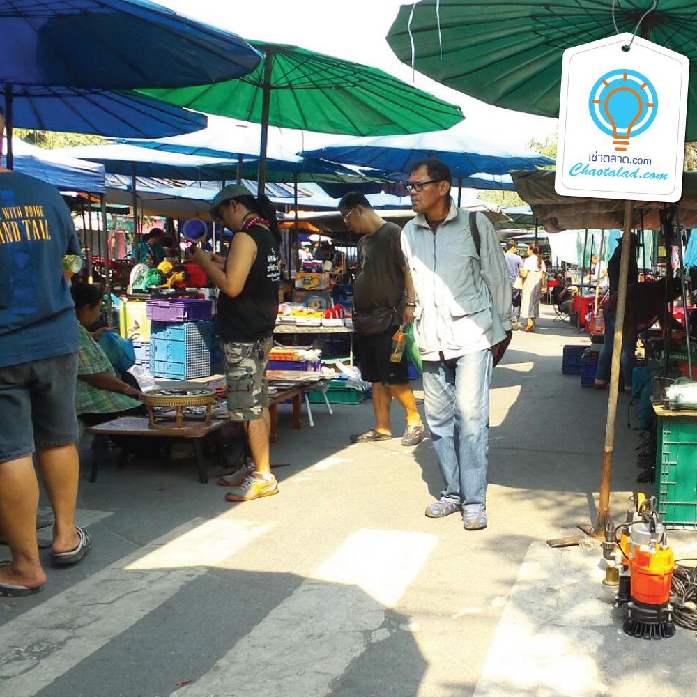 ตลาดนัดคลองถม สนามหลวง 2 เช่าตลาด เช่าพื้นที่ตลาด เช่าขายของ