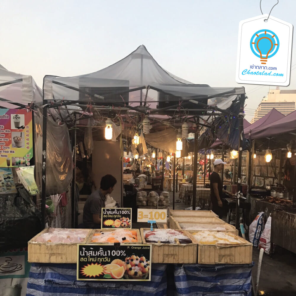 Neon ตลาดนัดนีออน ตลาดกลางคืน พื้นที่ว่างให้เช่าขายของ ที่ขายของ เช่าตลาด
