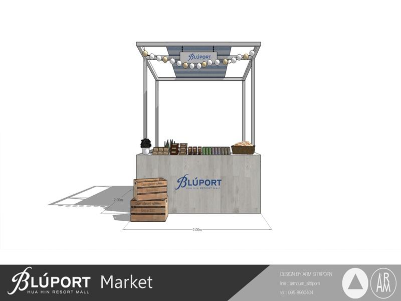 บลูพอร์ต หัวหิน เช่าตลาด ขายของตลาดนัด หาที่ขายของ