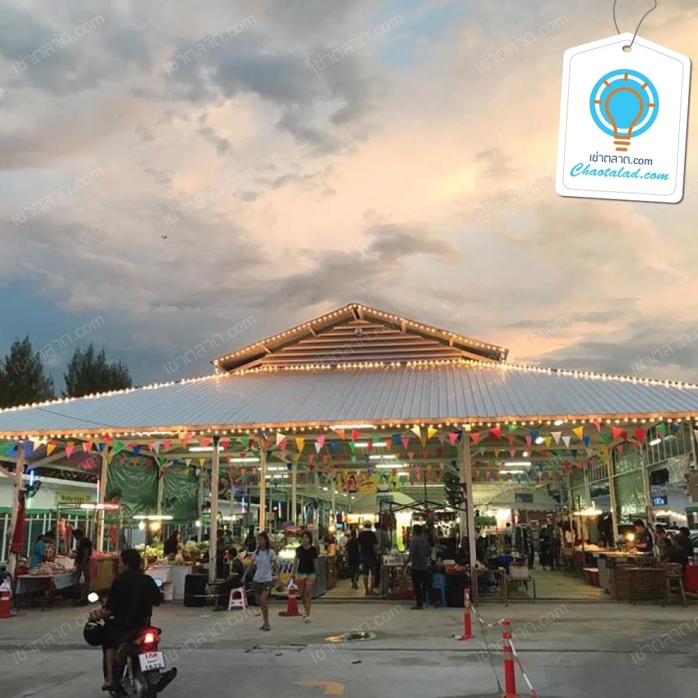 ตลาดใหม่เรวดี ขายสินค้าทุกประเภท อาหารสำเร็จรูป อาหารสด อาหารทะเลต่างๆ ผักสด