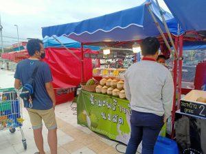 เปิดแล้ว !! ตลาดนัดโลตัสคลอง 4 ธัญบุรี พื้นที่ขายของหน้าห้างขายดี